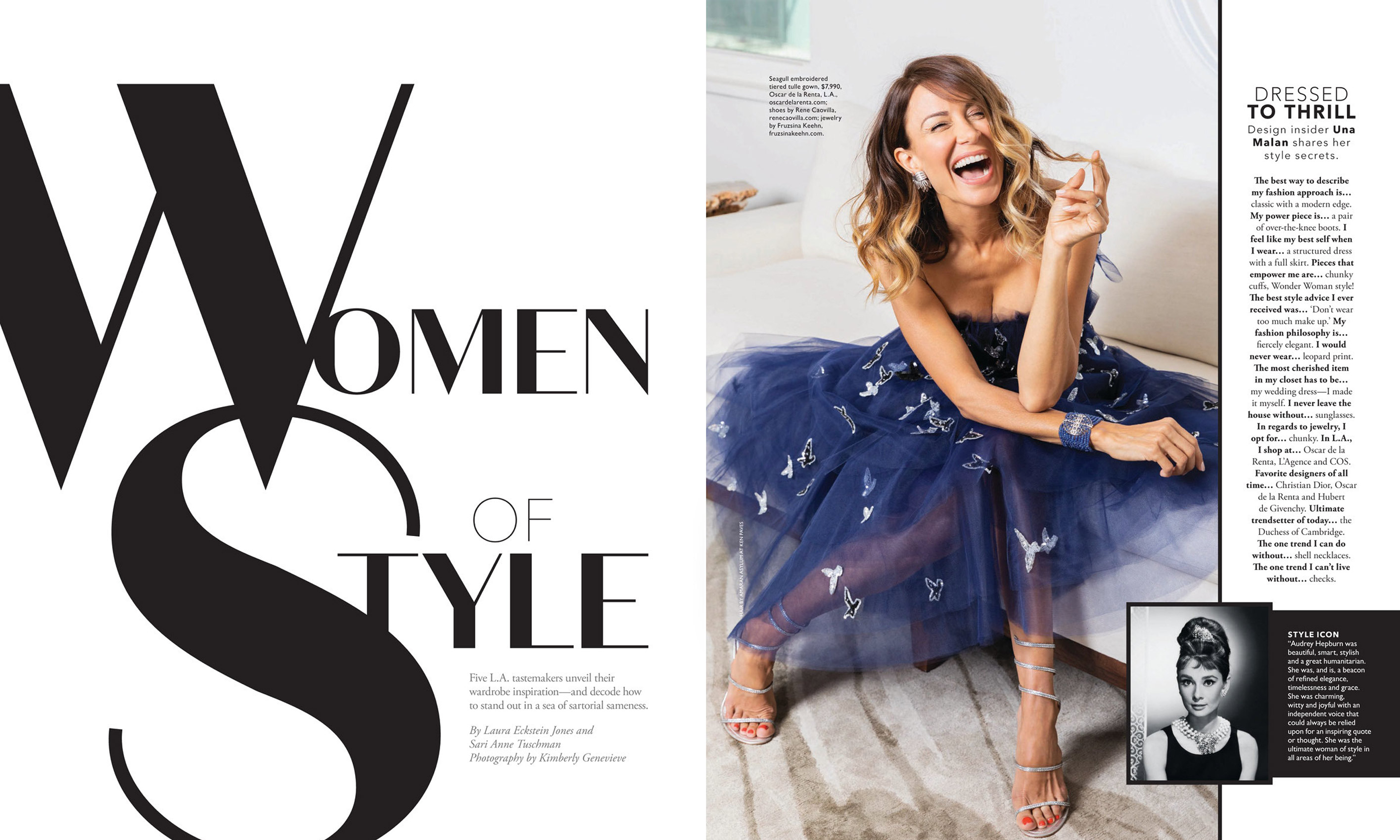 Women Of The Moment Angeleno Magazine - Kim Genevieve Los Angeles Portrait Photographer